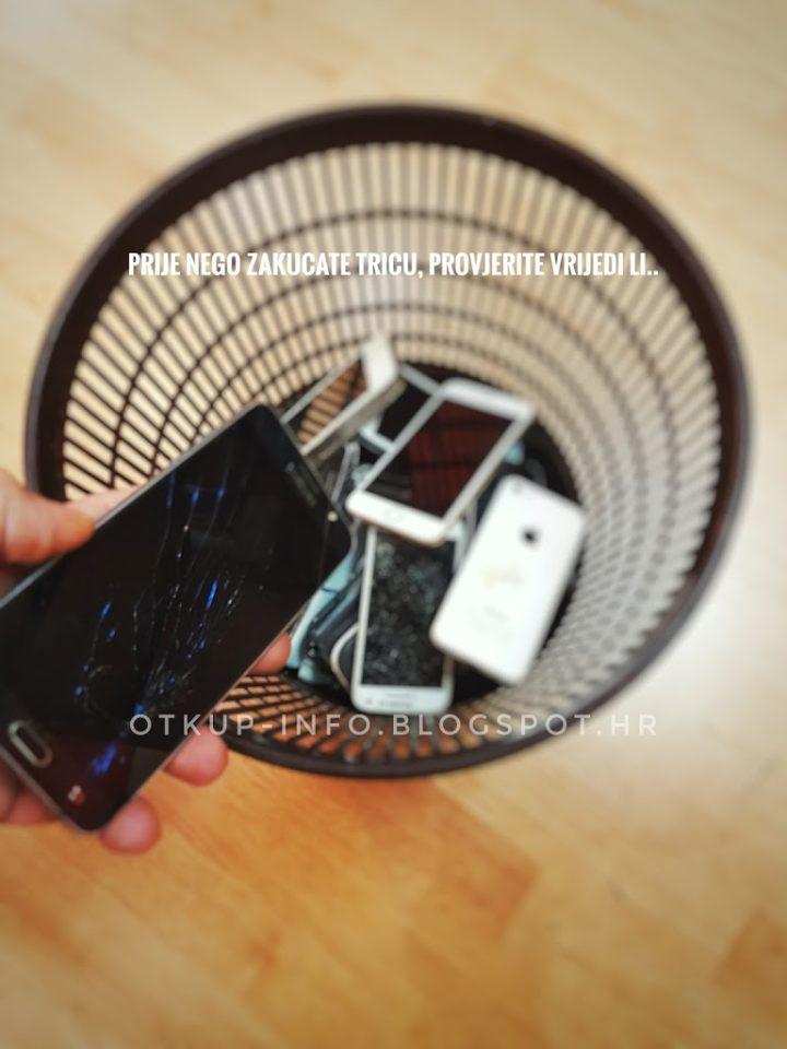 Otkup neispravnih mobitela SPLIT; Dalmacija